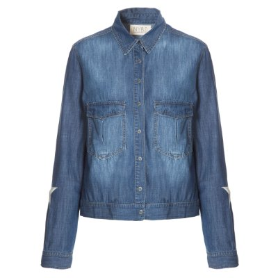 Camisa Jacket Estrelas Manga