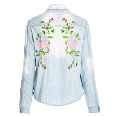 Camisa Jacket Floral Clara