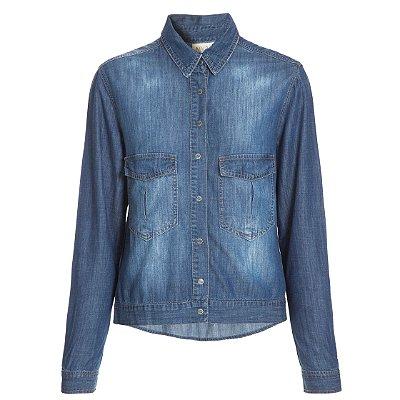 Camisa Jacket Lisa Escura