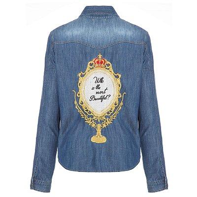 Camisa Jacket Espelho Escura