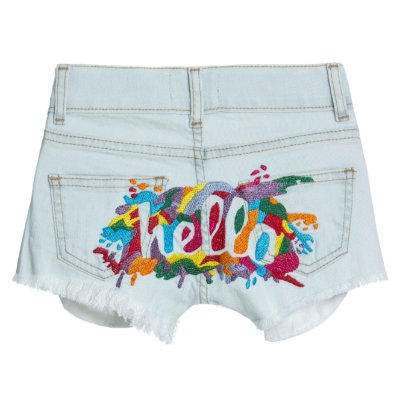 Shorts Hello Bambini