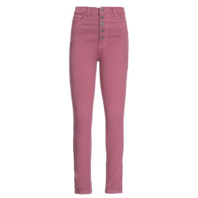 Calça Skinny High Waisted Blush