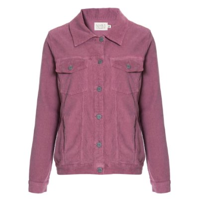 Jaqueta de Veludo Blush Lisa