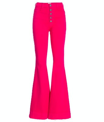 Calça Flare High Waisted PINK