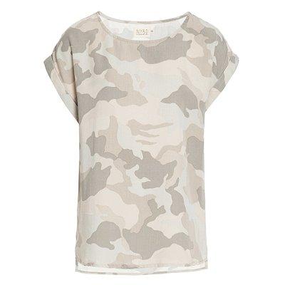 T-Shirt Camuflado Bege