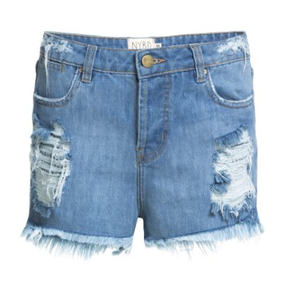 Shorts Destroyed Jeans