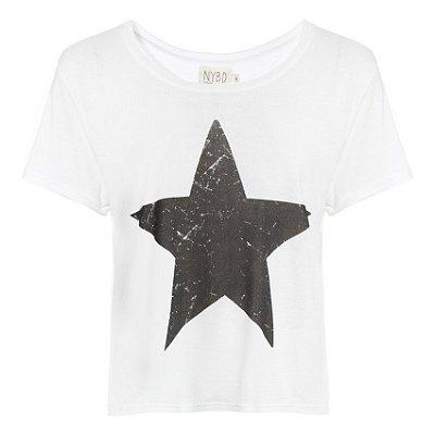 Camiseta Estrela Branca