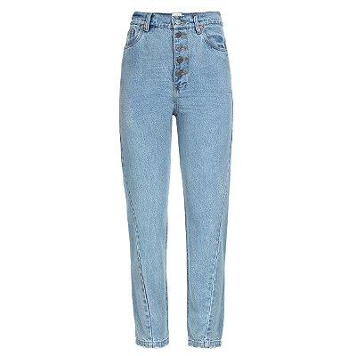 Calça Jeans Costura Torta