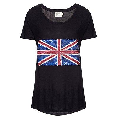 Camiseta Inglaterra Preta