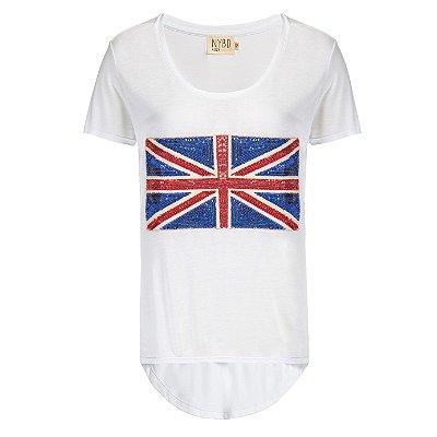 Camiseta Inglaterra Branca