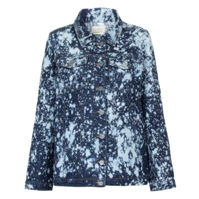 Jaqueta Jeans Tie Dye