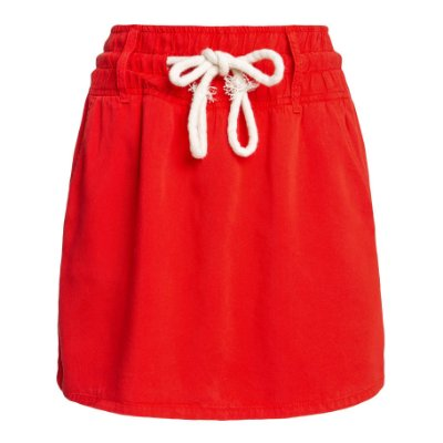 Shorts Saia Tencel Tomate
