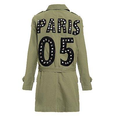 Parka de Sarja Militar Paris