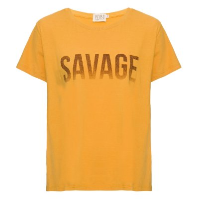 Camiseta Savage Mostarda
