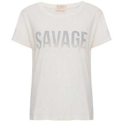 Camiseta Savage Branca