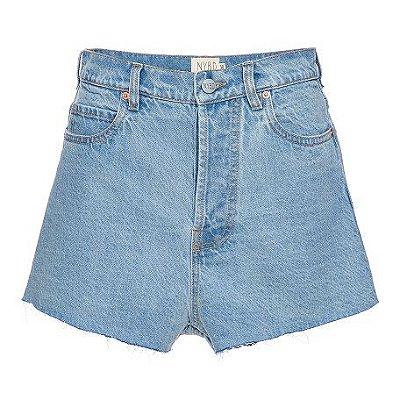 Shorts Básico Jeans Escuro