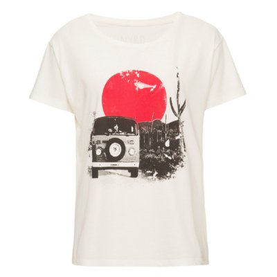 Camiseta Bus Offwhite
