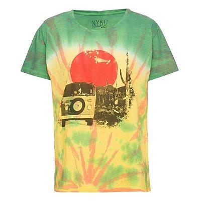 Camiseta Bus Tie Dye
