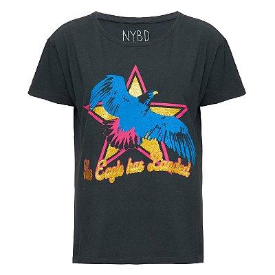 Camiseta Eagle Chumbo