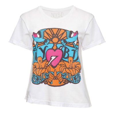 Camiseta Costura Torta Glitter