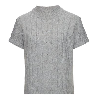 T-Shirt Tranças Cinza