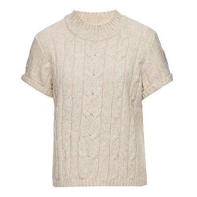 T-Shirt Tranças OffWhite