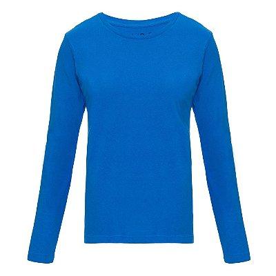 Camiseta básica manga longa Lisa Bic