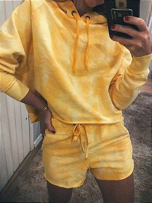 Shorts Moletom Tie Dye Sun