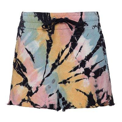 Shorts Moletom Tie Dye Candy