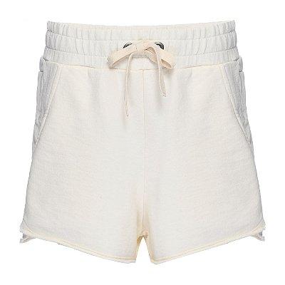 Shorts Moletom OffWhite