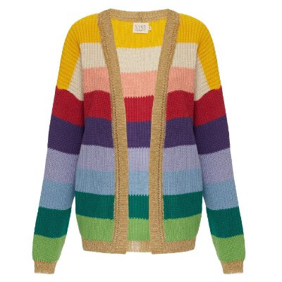 Cardigan Rainbow New