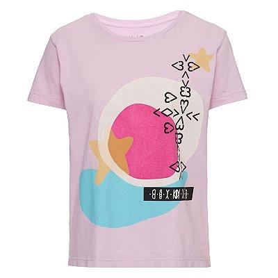 Camiseta Star Lilás
