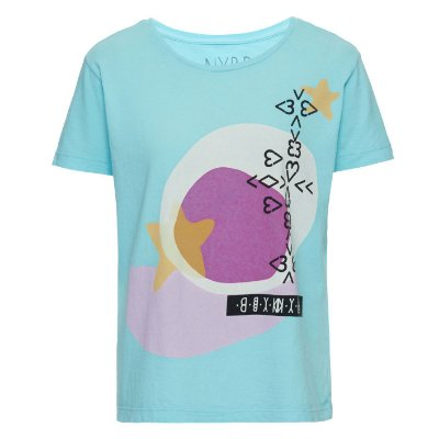 Camiseta Star Acqua