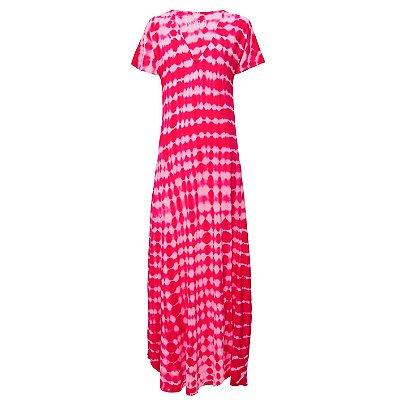 Vestido Languido Tie Dye Pink