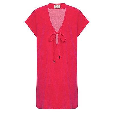 Vestido Saida de Praia Pink
