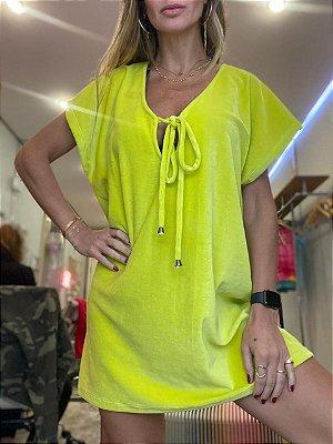 Vestido Saida de Praia lime