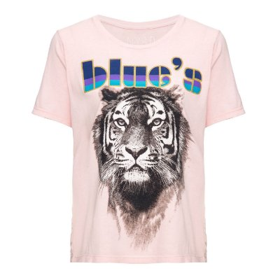 Camiseta Blues Rosinha