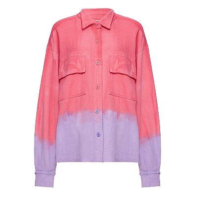 Camisa Moletom Tie Dye