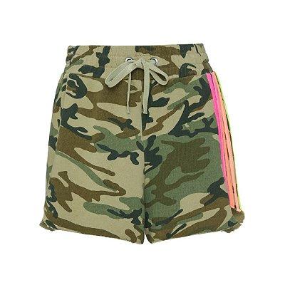 Shorts Rainbow Neon Camuflado
