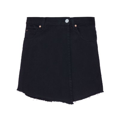 Shorts Saia Sarja Preto