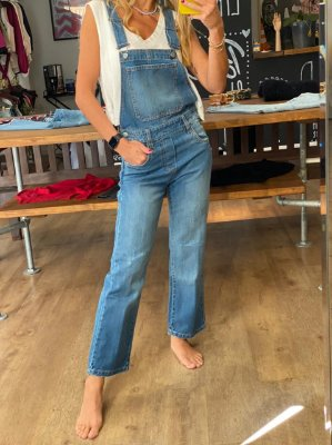 Macacão Reto Jeans