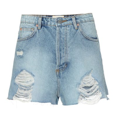 Shorts High Destroyed Jeans