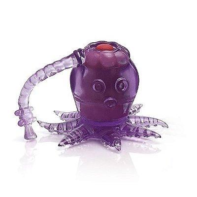 Mini Vibrador Octopussy Lilás