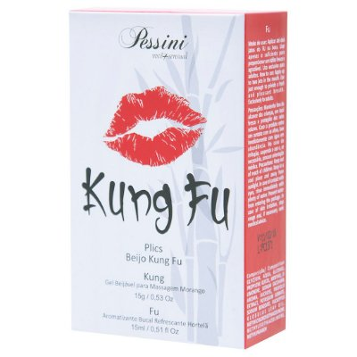 Kit Gel Beijável e Dessensibilizante Bucal Kung Fu