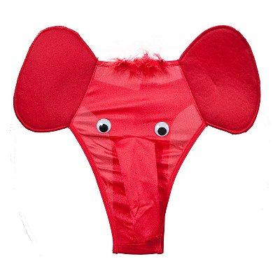 Cueca Sexy Elefante Vermelha