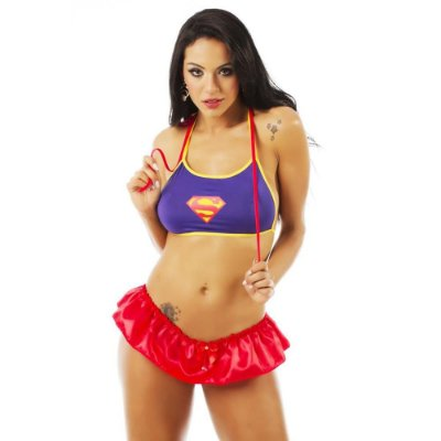 KIT MINI FANTASIA SUPER GIRL PIMENTA SEXY