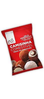 Camisinha Comestível Trufa de Chocolate