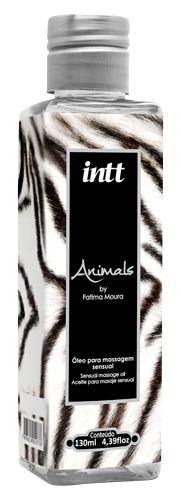 Óleo para Massagem Sensual Animals - Intt