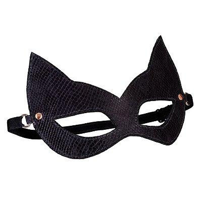 Máscara em Couro Python Secret Play
