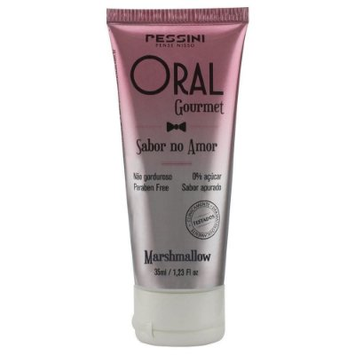 Oral Gourmet Gel Beijável Marshmallow